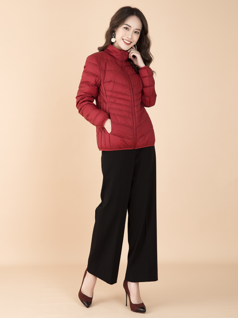 Áo khoác lông vũ B9COA004D đỏ