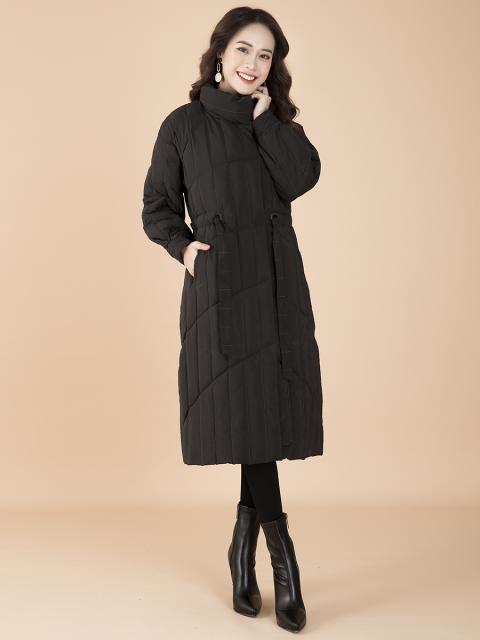 Áo khoác lông vũ B9COA012D đen