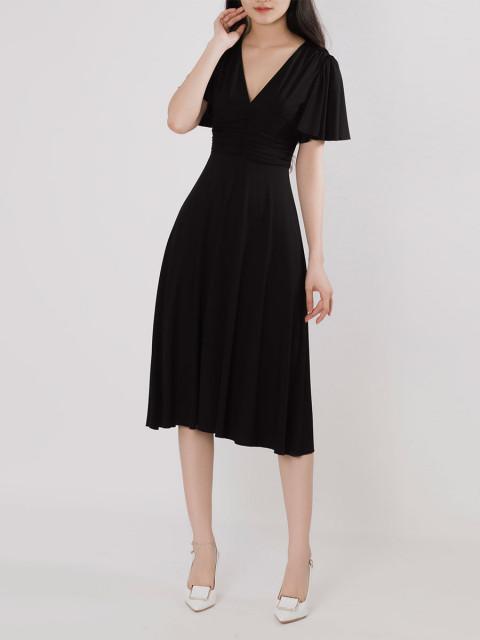 Đầm B9DRE217G đen