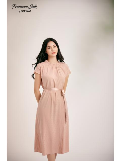 Đầm B9DRE307I hồng