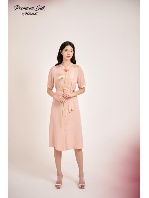 Đầm B9DRE309I hồng