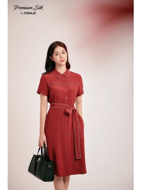 Đầm B9DRE313I đỏ