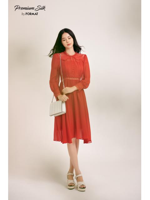 Đầm B9DRE800I đỏ