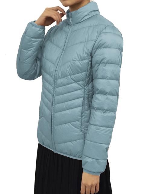 Áo lông vũ B9JCK209F xanh da trời-01