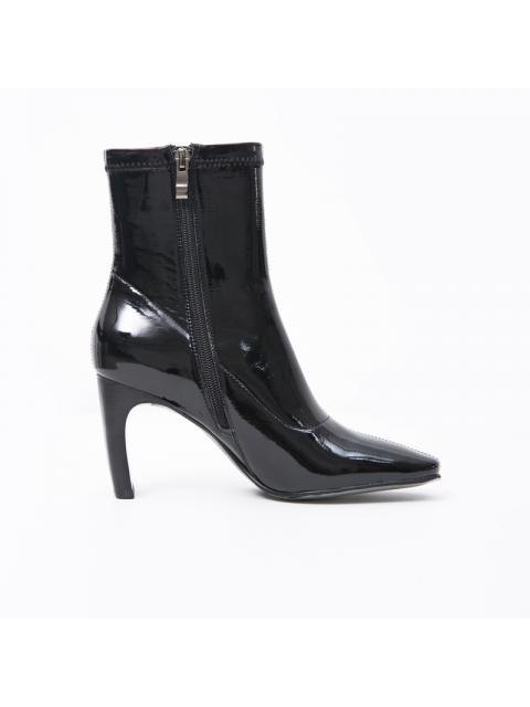 Boots B9SHO833D đen