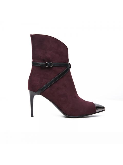 Boots B9SHO846D đỏ rượu