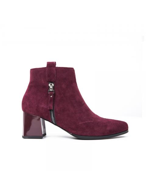 Boots B9SHO906D đỏ rượu
