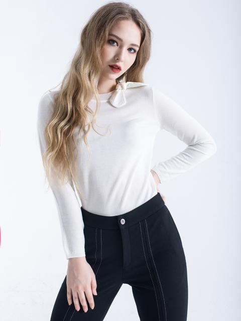 Áo len B9SWT609F trắng