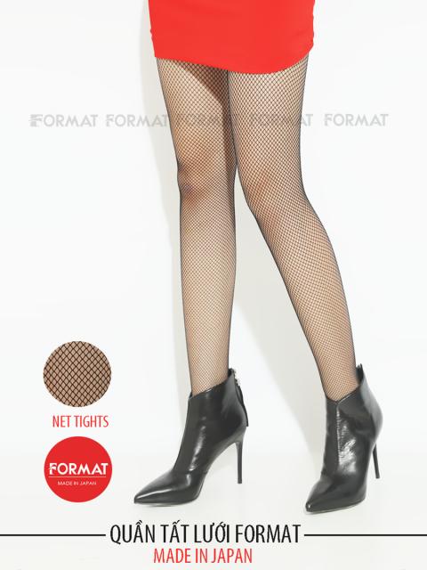 Quần tất lưới FORMAT B9TIG006D 50D black