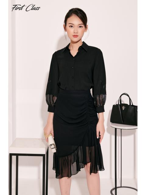 Chân váy A917-100I đen