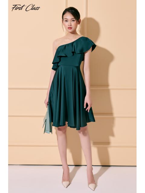 Đầm A993-548I xanh