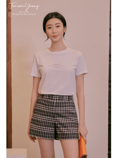 Áo t-shirt B9TSH005E trắng