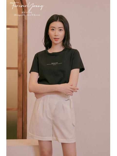 Áo t-shirt B9TSH005E đen