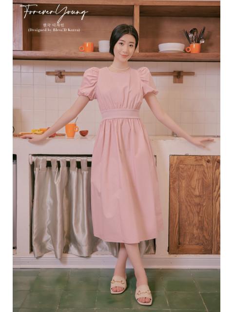 Đầm B9DRE322I hồng