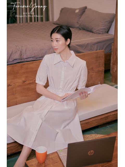 Đầm B9DRE321I trắng