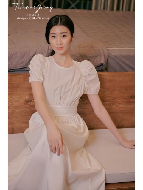Đầm B9DRE322I trắng