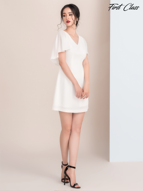 Đầm FB995-010C trắng