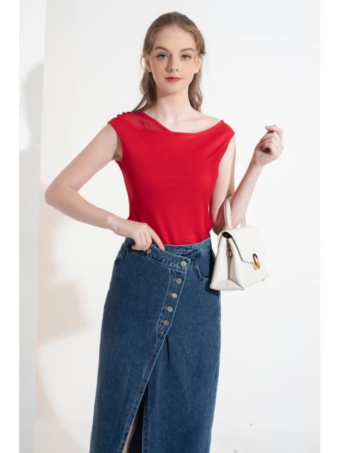 Áo T-shirt B931-625I đỏ