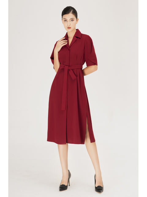 Đầm B995-503H đỏ
