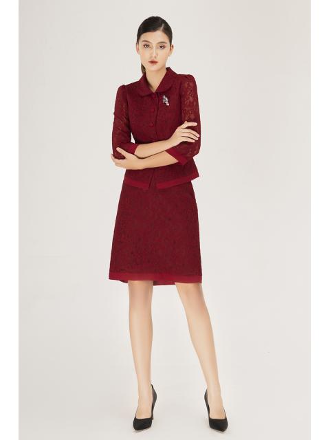 Chân váy B915-921H đỏ