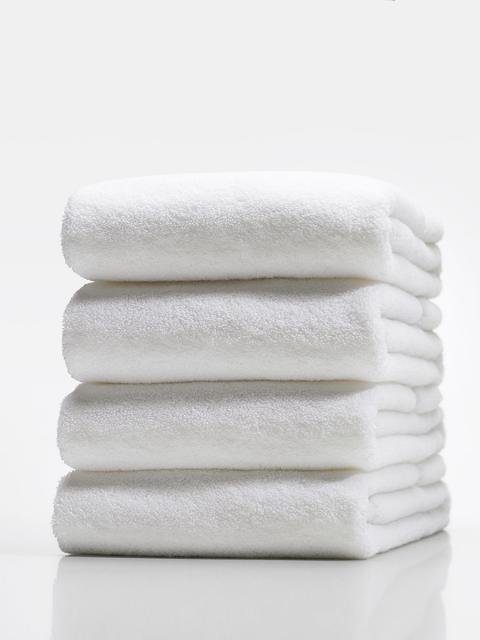 Khăn tắm FM Home 100% bamboo 1301 trắng