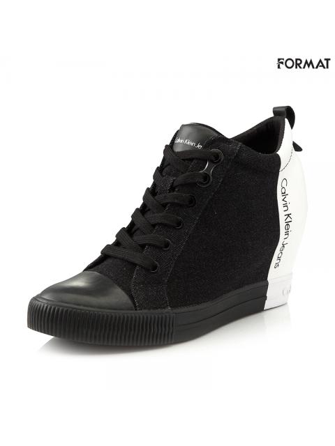 Giày snearker nữ CK R3579 military/ black